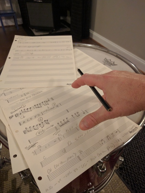Charting out arrangements by hand ‡