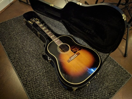 '55 Gibson J45..nothing like it. ‡