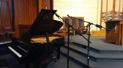 Recording late jazz pianist Andy Trice on-location ‡