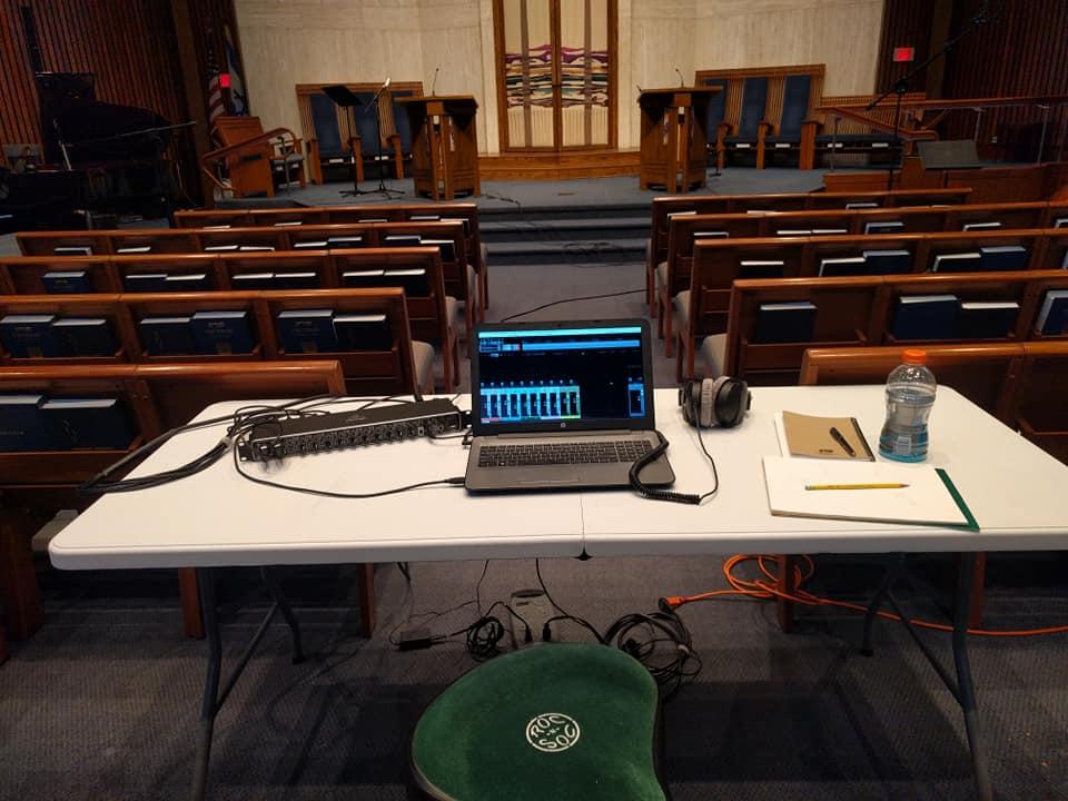 mobile rig - TRS; Falls Church, VA (June 2018)